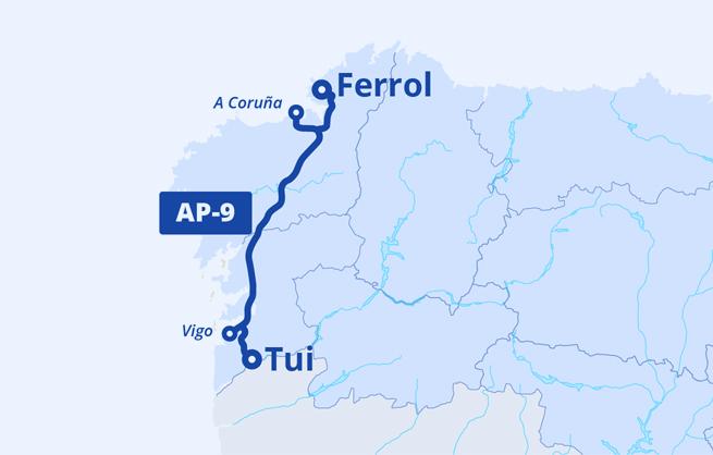 Mapa Audasa AP-9